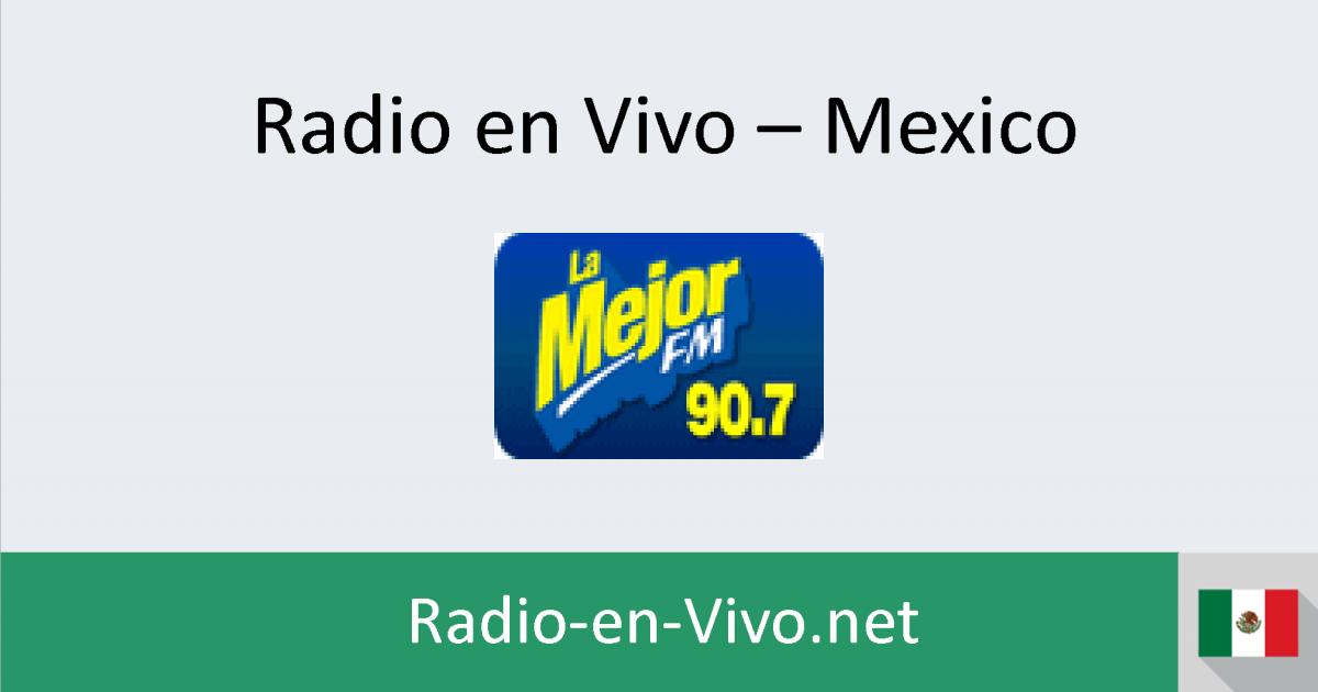 la mejor 90 7 fm radio en vivo mexico. Black Bedroom Furniture Sets. Home Design Ideas